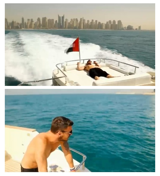 Shannon Leto shirtless on a yacht looks better than paradise to me <3 <3 <3