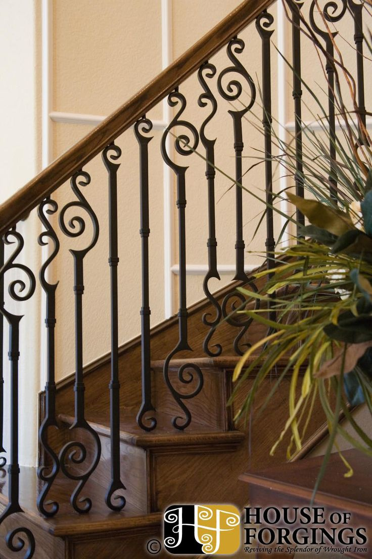 25 best iron balusters ideas on pinterest wrought iron stairs iron staircase and wrought. Black Bedroom Furniture Sets. Home Design Ideas