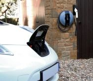 free installation of PodPoints - electric vehicle charging points - via Solway Renewables - ....