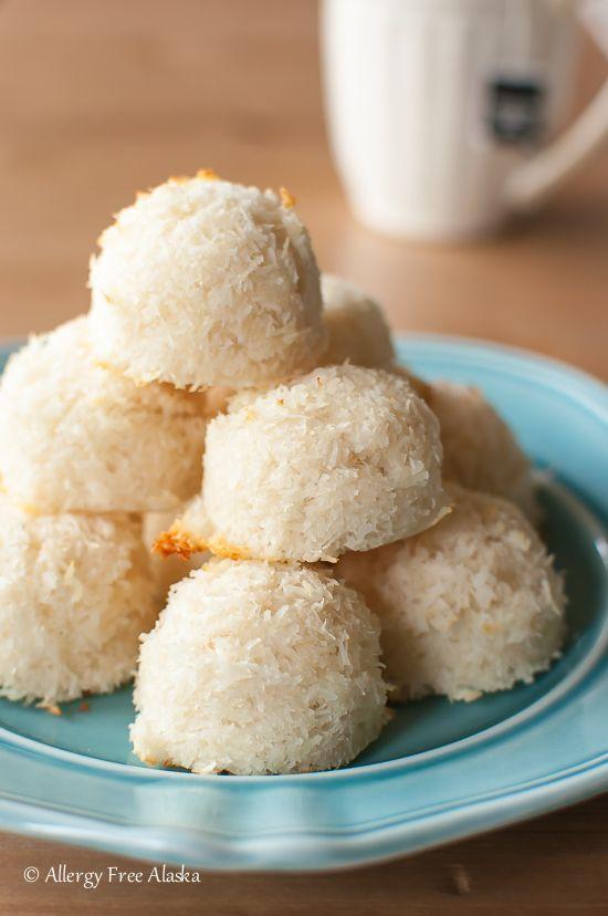Sugar Free Vanilla Macaroons Recipe