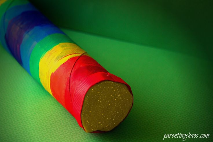 Planting a rainbow rainstick    Make a rainbow rain stick using recycled materials and items around the house! This is a great musical instrument for young children that sounds just like rain!