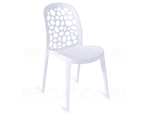 Moon chair inspired by the Ross Lovegrove Supernatural chair