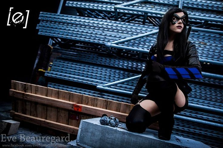 cosplay sexy nightwing eve beauregard 4   Cosplay sexy Nightwing   sexy Robin photo Nightwing image Eve Beauregard costume cosplay Batman