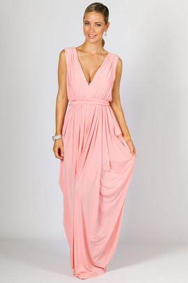 Aphrodite Maxi Dress - Pink