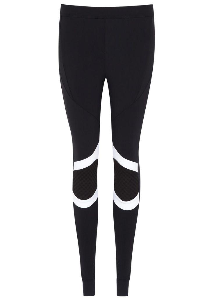 Noka'oi black stretch jersey leggings