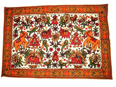 Feizy Rugs Wall Hanging Tapestry Beautiful Handmade Jungle Safari