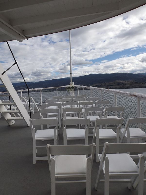 Chairs on the Bow of the Ship - Okanagan Wedding Ceremony Venue - SS Sicamous - Penticton  (4)