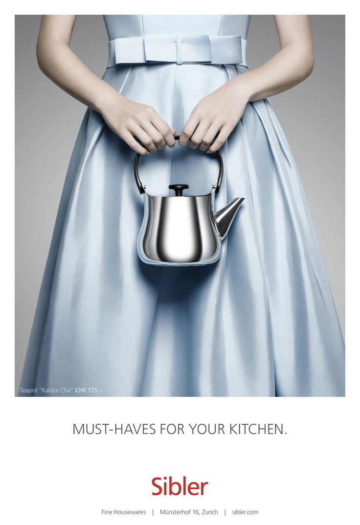 Sibler Fine: Teapot | Ads of the World™