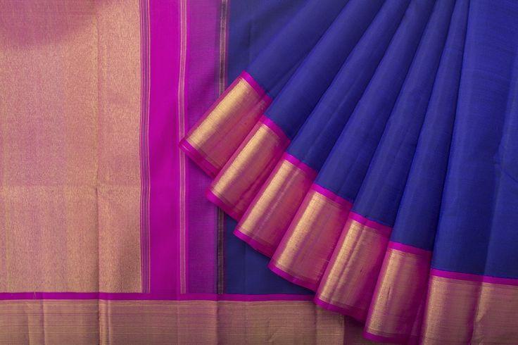 Kanakavalli Handwoven Kanjivaram Silk Sari 1017006 - Brands / Saris / kanakavalli - Parisera