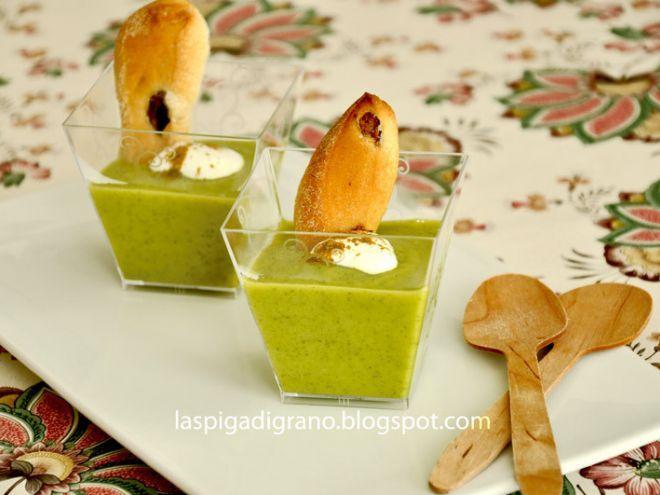 Ricetta Antipasto : Crema di zucchine al curry da Spighetta