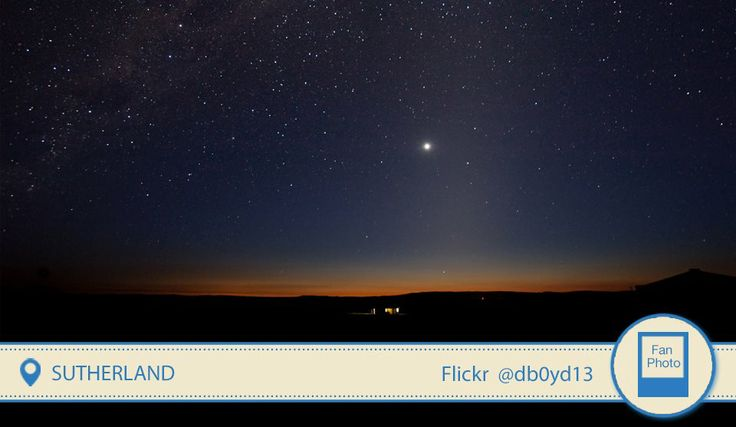 Sutherland is the least polluted place on the planet! Who's up for stargazing?