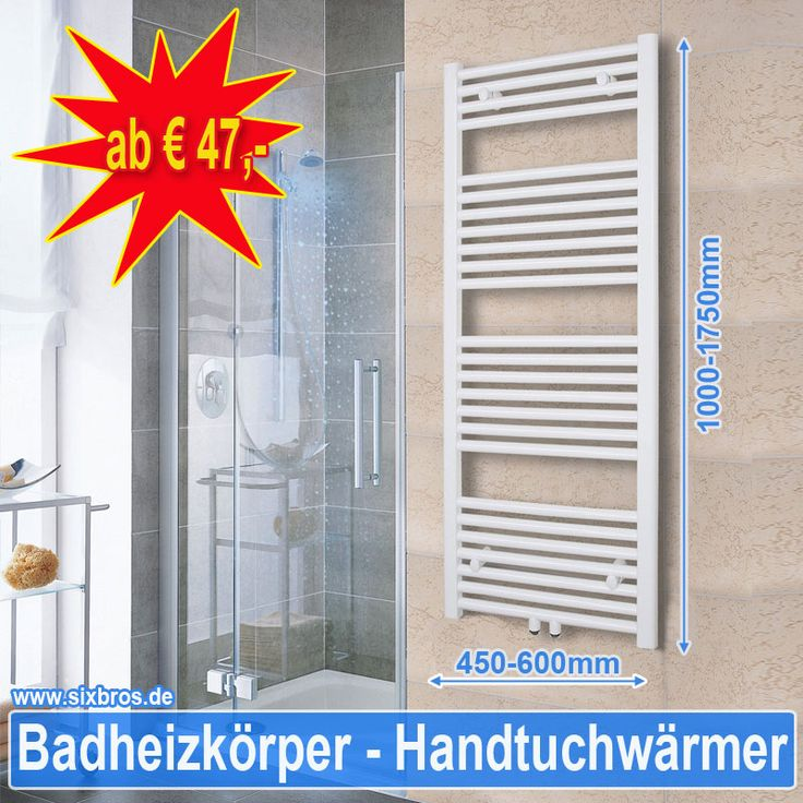 """Wer friert denn schon gerne bei diesem Wetter """"grin""""-Emoticon Jetzt zugreifen auf https://www.sixbros.de/haus-…/badezimmer/badheizkoerper.html"""