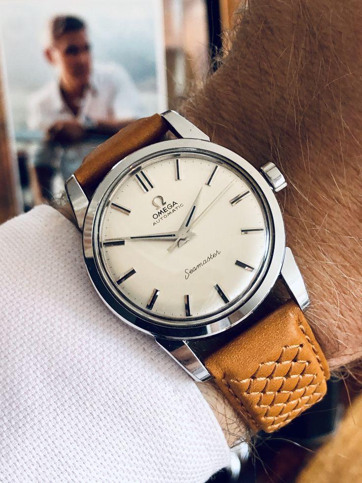 Omega Seamaster 1959 men's mechanical vintage watch finder
