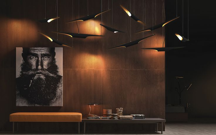 Each lobby will be amazingly decorated if you pick up Coltrane Suspension for your modern decor.