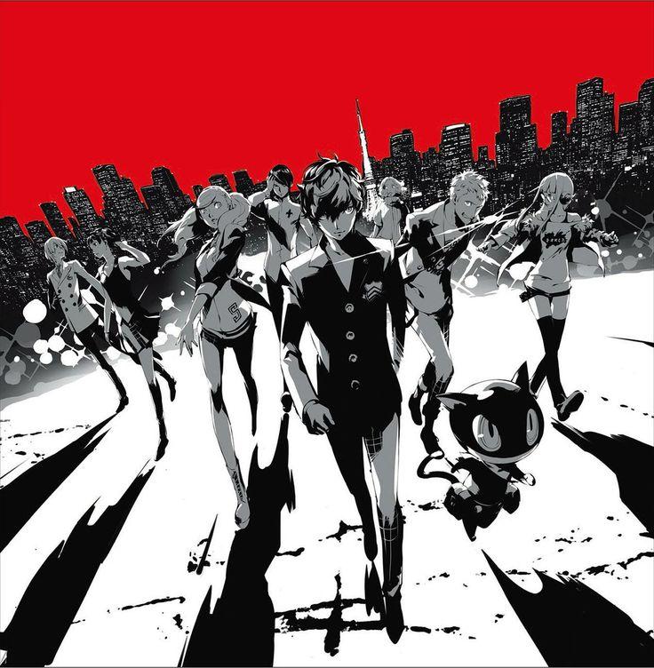 Shin Megami Tensei: Persona 5 | Akechi Goro | Arsène | Kitagawa Yuusuke | Kurusu Akira | Morgana | Niijima Makoto | Okumura Haru | Sakamoto Ryuuji | Sakura Futaba | Takamaki Anne
