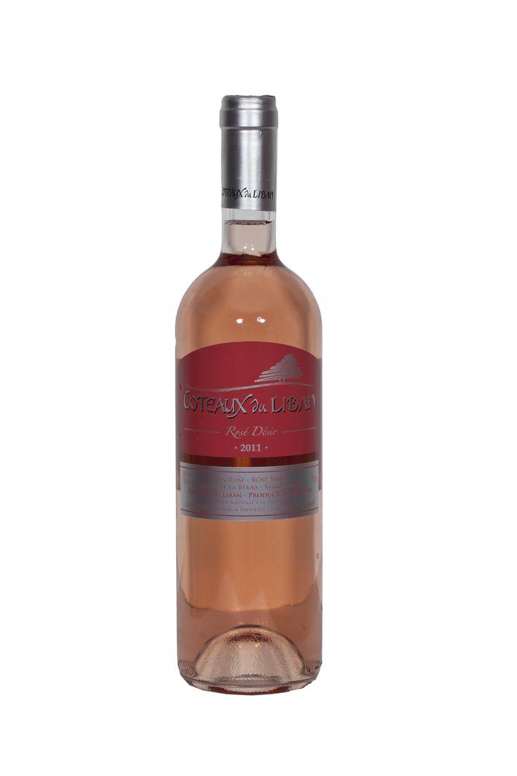 Robe saumonée. Nez floral intense. A servir entre 8 et 10 degrés. Ce Rosé Désir de Côteaux du Liban sera parfait pour l'apéritif et accompagnera agréablement les grillades d'été.