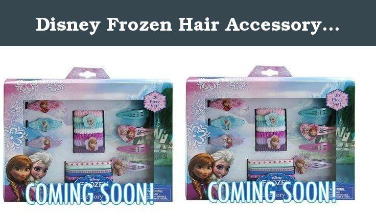 Disney Frozen Hair Accessory Set 20 pcs X 2 set. Disney Frozen Hair Accessory Set 20 pcs X 2 set.