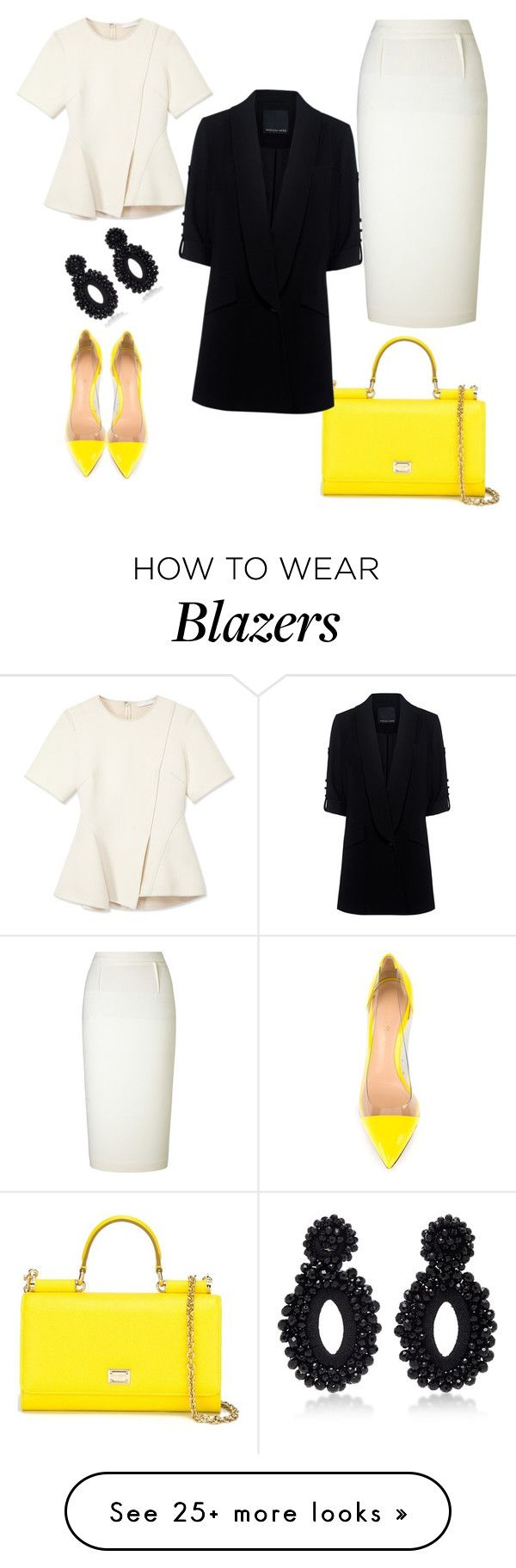 """Untitled #703"" by crazybookladysuzejn on Polyvore featuring Gianvito Rossi, Roland Mouret, Dolce&Gabbana, Bibi Marini, Alexander Wang and Marissa Webb"