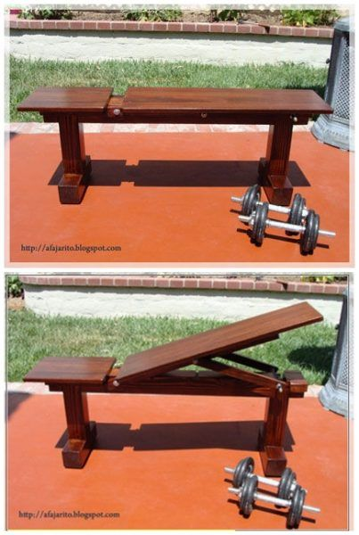 Diy Weight Bench With 5 Positions Homesteading  - The Homestead Survival .Com