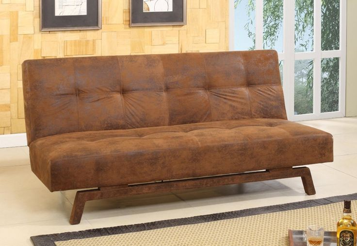 Rustic Looking Futon | The Best Wood Furniture