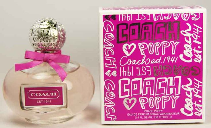 """BREATHTAKING"" - has COACH POPPY EDP 100ML WOMENS PERFUME BY COACH @ $98.07 !!! Why Not Visit This Site Today & See this as well as other Quality Perfumes ?"