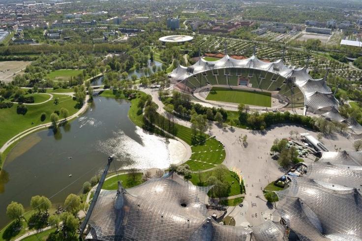 Parque Olimpico. Munich-Alemania