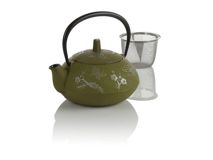 Butterfly cast iron teapot at teavana teavana tea cups pinterest cherries beauty and - Teavana teapot set ...