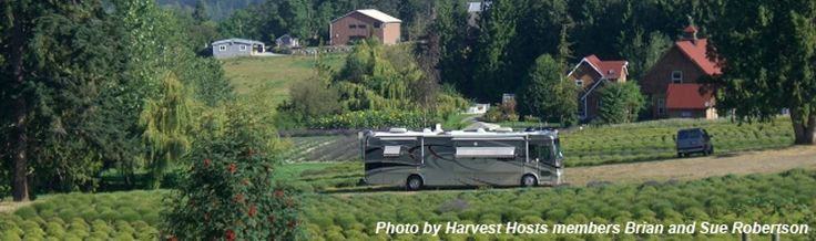 Free Camping with Harvest Hosts at Wineries, Farms and Orchards