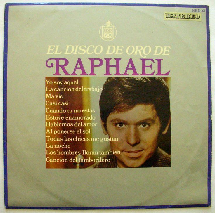 RAPHAEL EL DISCO DE ORO DE RAPHAEL Spain press