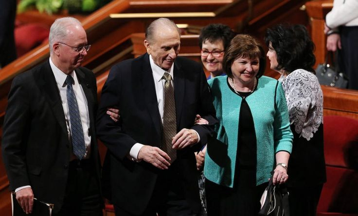 "LDS Church President Thomas S. Monson Hospitalized; Release Expected Soon | Meridian Magazine - LDSmag.com | ""President Monson was not feeling well last evening and was admitted to the hospital,"" Eric Hawkins, a spokesman for The Church of Jesus Christ of Latter-day Saints, said Tuesday. ""He has received treatment and fluids and will hopefully be released soon."""