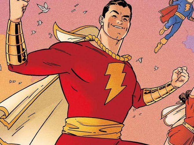 DC superhero Shazam gets his own movie starring Zachary Levi