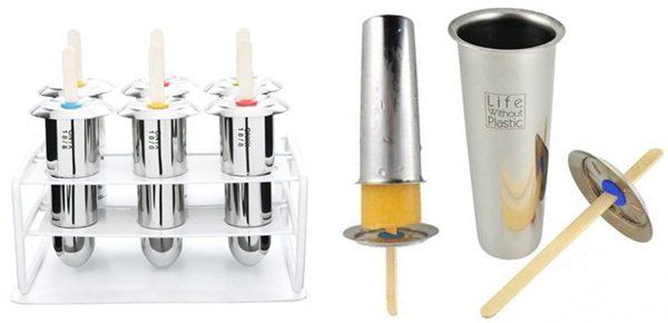 stainless steel popsicle molds - best ice pop molds review of all kinds of popsicle molds