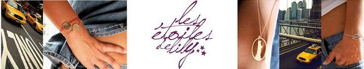 Les étoiles de Lily, bijoux fantaisie créateur, bijoux fiat 500, bijoux Vespa, tête de mort, trèfle et dreamcatcherLes étoiles de Lily - Lili Shopping