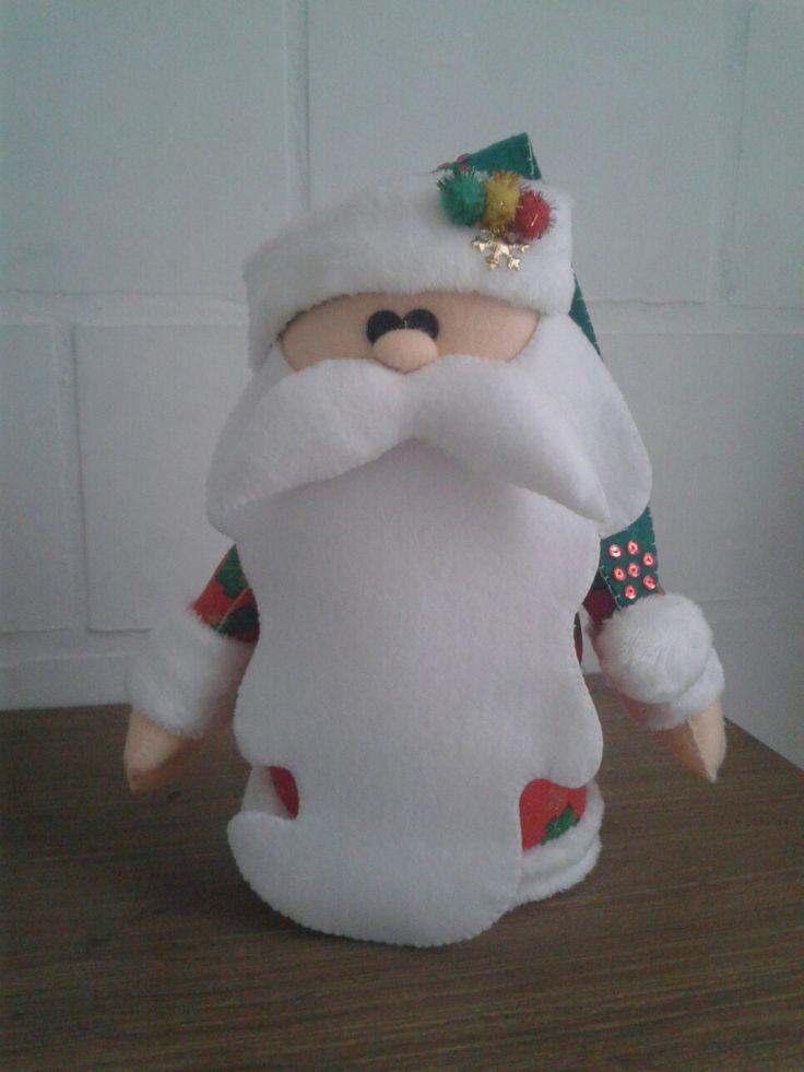 Papá  Noel barba larga