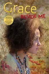 "Grace Beside Me - Written from teenage girl Fuzzy Mac's perspective, Grace Beside Me is a quirky, warmly rendered story of home and family life in a small town. Grace Beside Me interweaves the mundane with the profound and the spiritual - it is full of wisdom and good advice on everything from how to ""sit a while"" in the bush and connect with country to how to properly hang out the washing. Written by Sue McPherson."