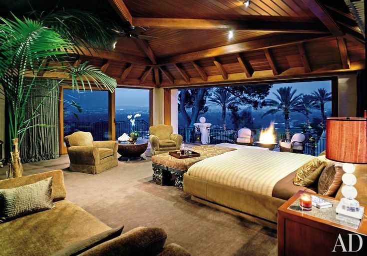 beautiful tropical bedroom design Exotic #Bedroom by Franco Vecchio and Landry Design Group