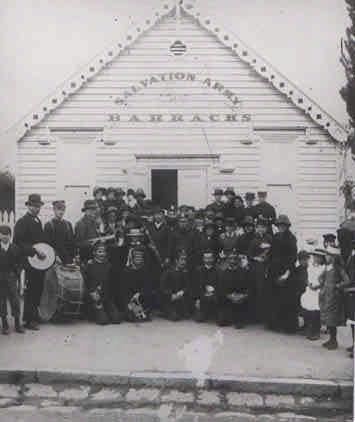 SL 183c - Barracks in Main St., Stawell Historical Society.