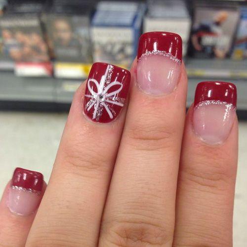 Best 25+ Christmas nail polish ideas on Pinterest   Cute ...