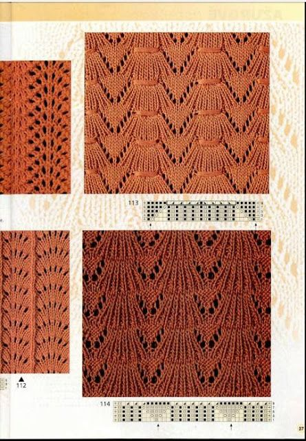 Kira knitting: Knitted pattern no. 76
