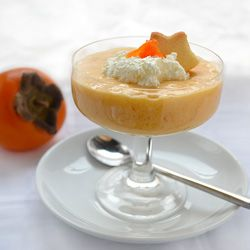 Raw Persimmon Pudding Recipe HealthyAperture.com