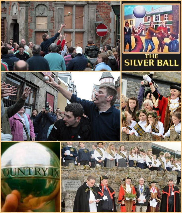 Hurling or Hurling the Silver Ball (Cornish: Hurlian), is an outdoor team game of Celtic origin played only in Cornwall. It is played with a small silver ball. Cornish Hurling is a ball throwing carrying game akin to Rugby Football.