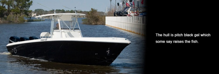 New 2012 Fountain Boats 34 Sportfish CC Open Bow Express Fisherman Boat - Beautiful Hull!