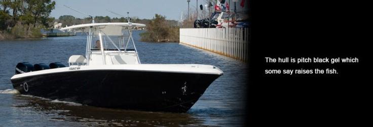 New 2012 Fountain Boats 34 Sportfish CC Open Bow Express Fisherman Boat - Beautiful Hull!