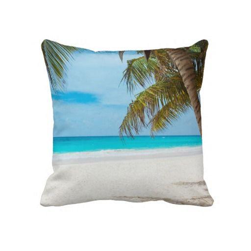Het tropische Strand van het Paradijs Decoratie Kussens