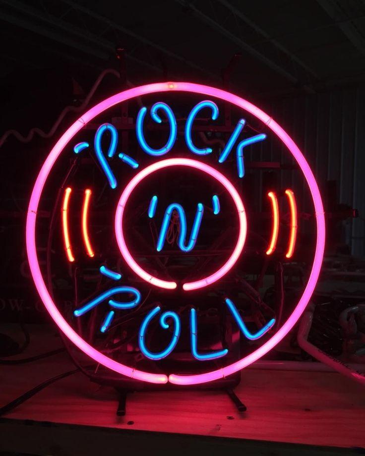 Rock N Roll Neon signs, Rock n roll, Neon