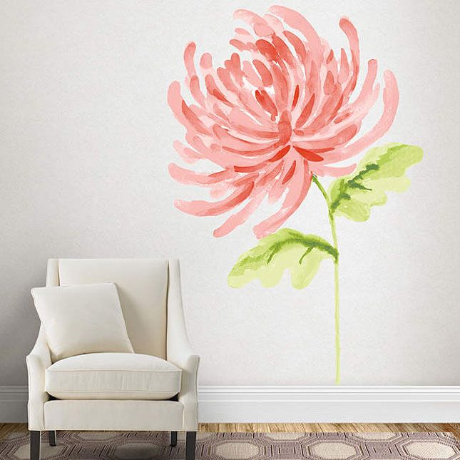 Make a statement with this gorgeous wall decal.