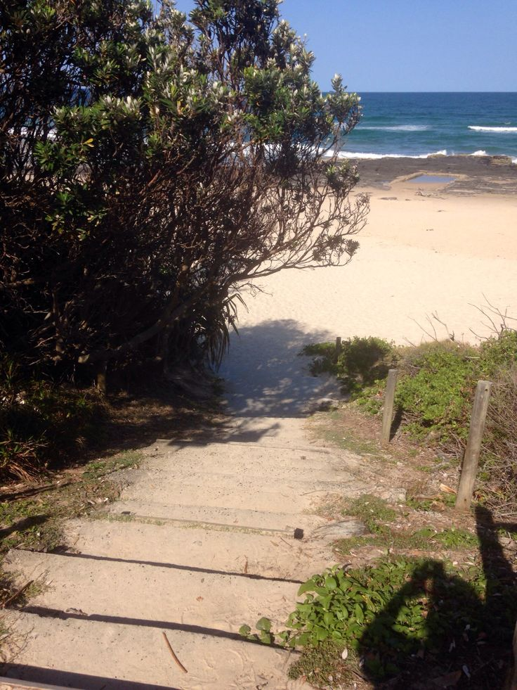 Stairs to Shelly Beach, Ballina, NSW, Australia