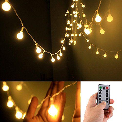 [Remote & Timer] 16 Feet 50 LED Outdoor Globe String Ligh... http://www.amazon.com/dp/B01AWG1SLG/ref=cm_sw_r_pi_dp_zlApxb1XS13K9