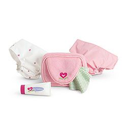 American Girl® Accessories: Changing Set Basics               I LIKE THIS AND I DONT HAVE MUCH FOR MY BIDDIE BABIES