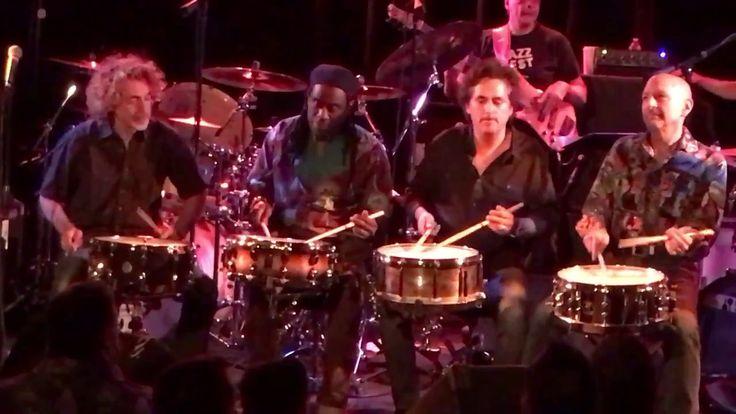 Steve Smith, Todd Sucherman, Simon Phillips & Will Calhoun - Snare Jam